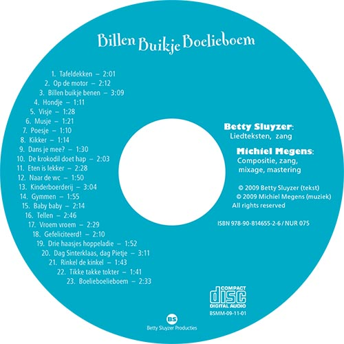 label CD Billen Buikje Boelieboem